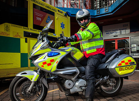 Image of Yeovil Blood bikes
